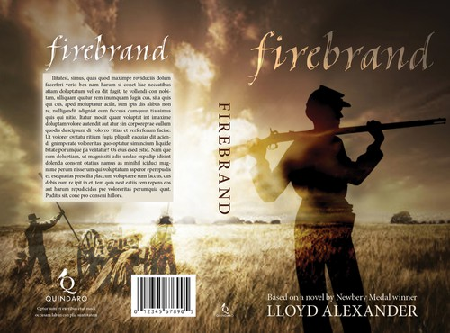 Memory design with the title 'book cover for Firebrand'