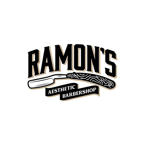 Razor logo with the title 'Ramon's Barbershop'