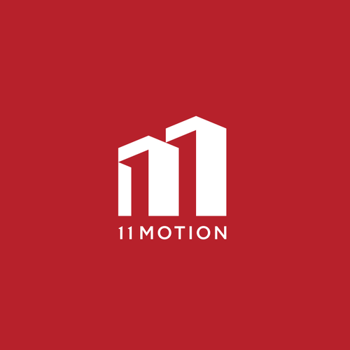 Number design with the title '11 MOTION'