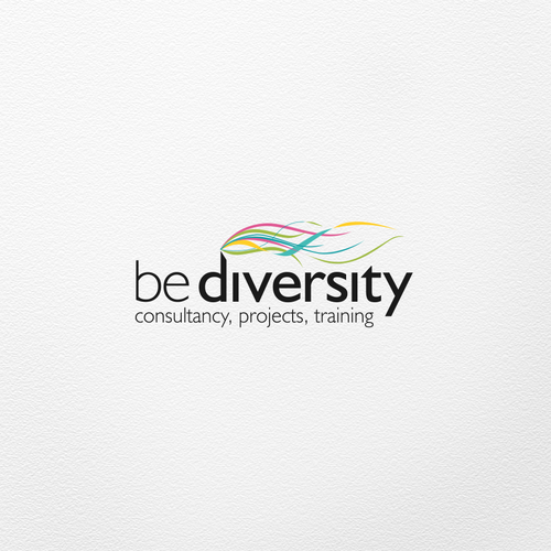 Consulting brand with the title 'Logo for BeDiversity'