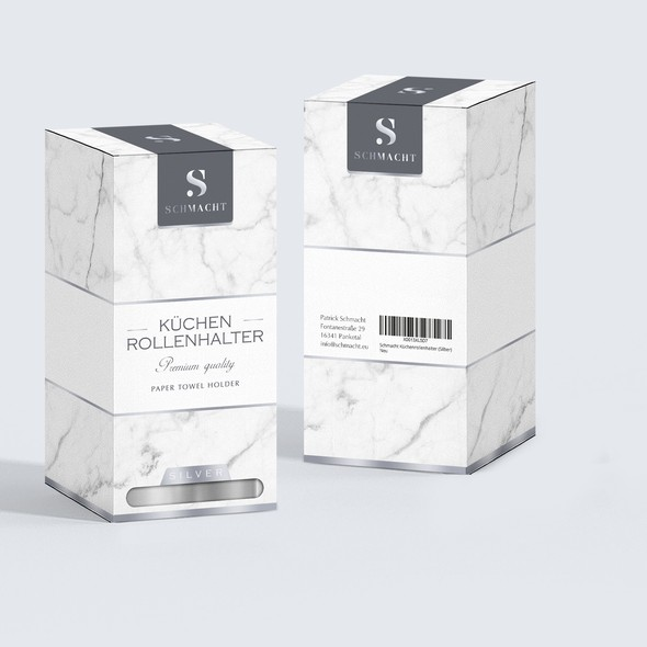 Towel design with the title 'package and Logo design'
