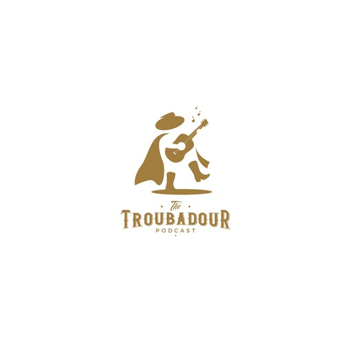 Arts logo with the title 'The Troubadour'