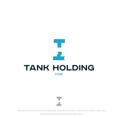 Tank design with the title 'Tank Holding Monogram'
