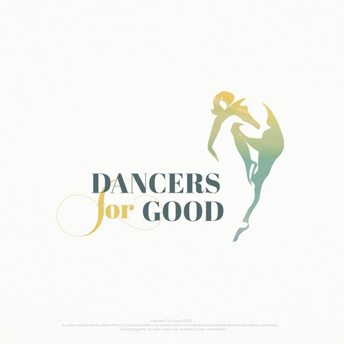 Movement design with the title 'Logo for a Dance event'