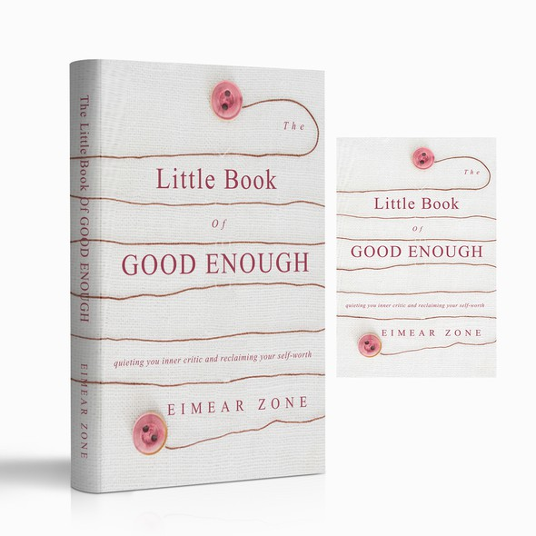 Quiet design with the title 'The Little Book of GOOD ENOUGH'