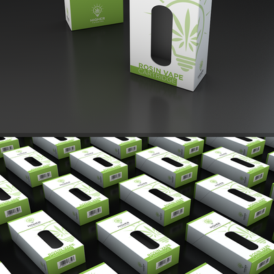 Packaging Design for Cannabis vape cartridge