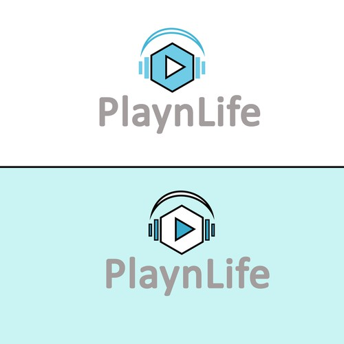 Enjoy logo with the title ' PlaynLife company'