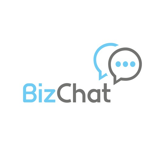 Cyan logo with the title 'BizChat'