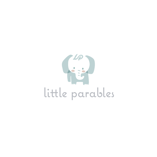 Cute logo with the title 'Little Parables'