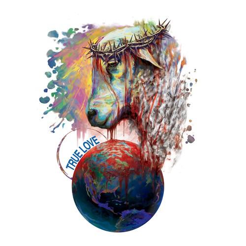 Full-color design with the title 'cordero'