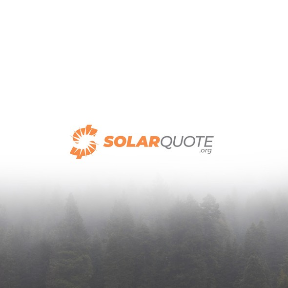 Solar logo with the title 'Logo for SolarQuote.'