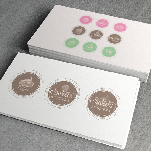Dot logo with the title 'rustic sweets catering'