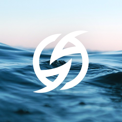 Watersports logo with the title 'Logo design for Australian Watersports Brand'
