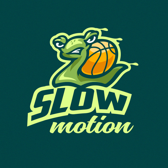 Snail logo with the title 'SlowMo'