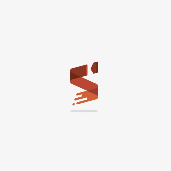 Screen design with the title 'Dynamic logo for film and Tv motion graphics company'
