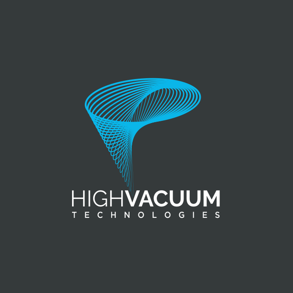 Tornado design with the title 'Logo fo a vacuum company'