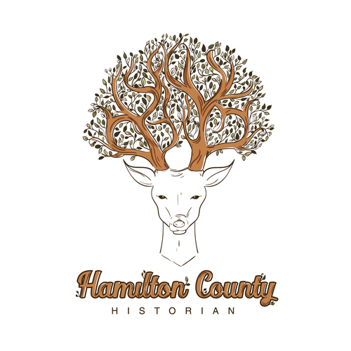 Tree of life design with the title 'Hamilton County'