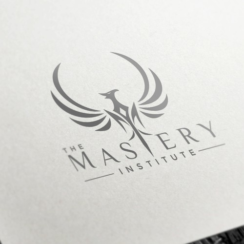 Life coaching logo with the title 'Life changer logo for The Mastery Institute'