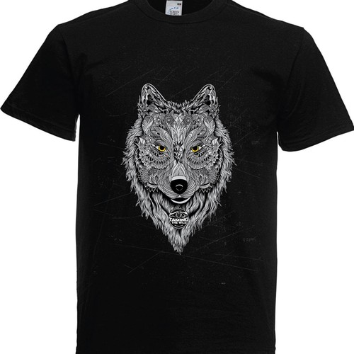 Wild t-shirt with the title 'Wolf'