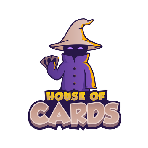 Wizard logo with the title 'HOUSE OF CARDS'