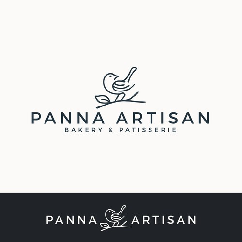 Patisserie design with the title 'Artisan bakery logo'