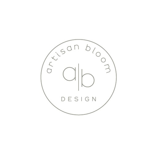Bloom design with the title 'art design'