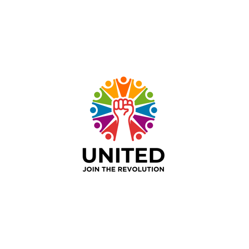 Powerful brand with the title 'UNITED'