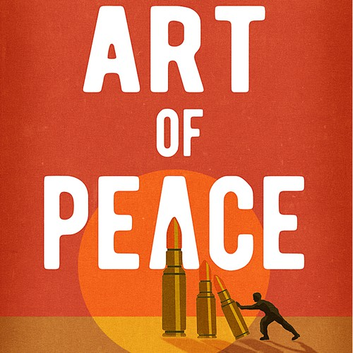 War design with the title 'The Art of Peace book cover '