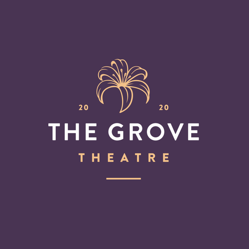 Garland logo with the title 'The Grove Theatre'
