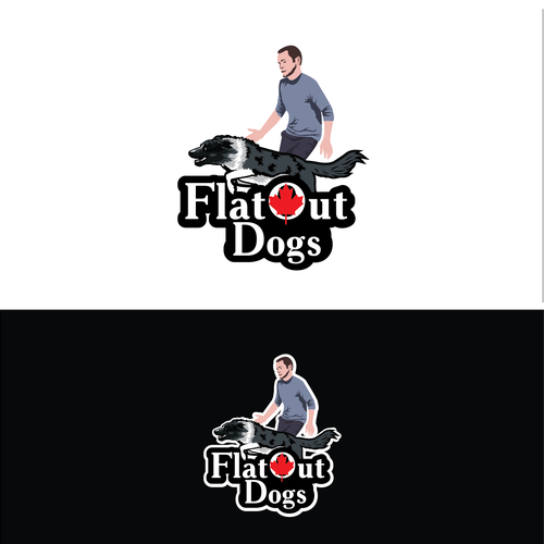 Dog training logo with the title 'FOR SALE - Logo for dog trainer'