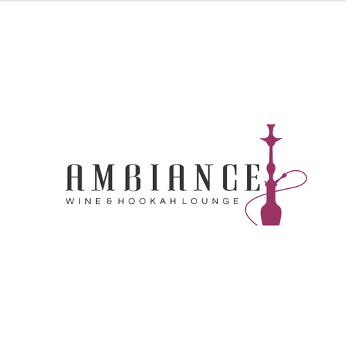 Bar and restaurant design with the title 'Modern, sleek, elegance for New York's newest Wine and Hookah bar, Ambiance!'