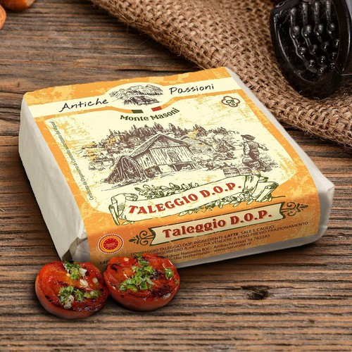 Cheese design with the title 'Cheese label'