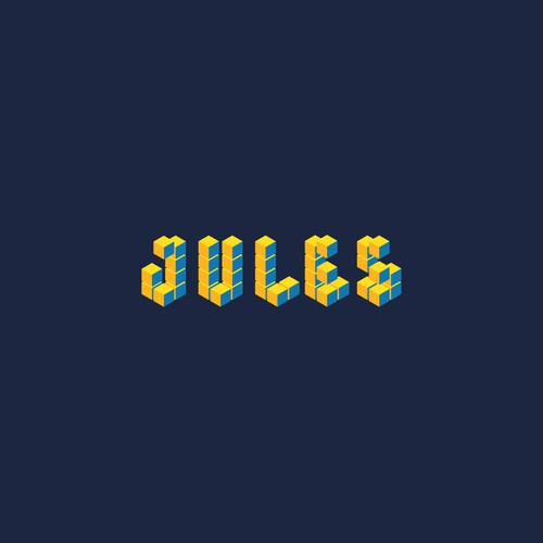 Gold beauty logo with the title 'Jules Ventures'