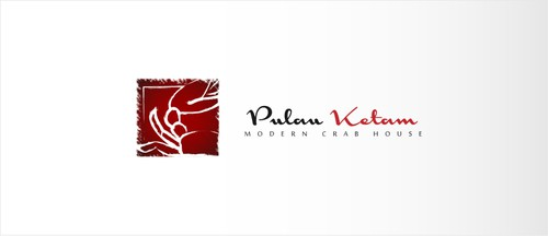 "Crab design with the title 'Logo proposal for ""Pulau Ketam"" a Modern Crab House)'"