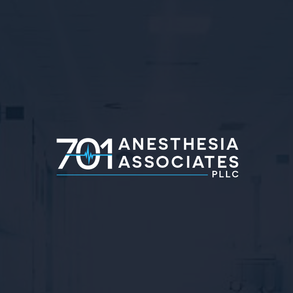 Anesthesia logo with the title 'Anesthesia Services Logo'