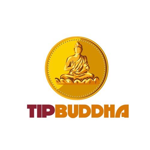Buddha logo with the title 'Tip Buddha'