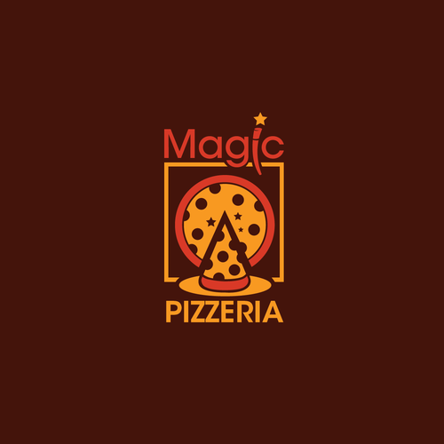 Dinner logo with the title 'Need A MagicPizzeria Logo - Let's See It!'