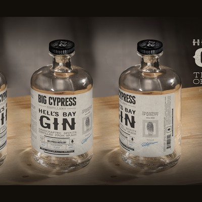 Label Magic City Gin from Big Cypress Distillery