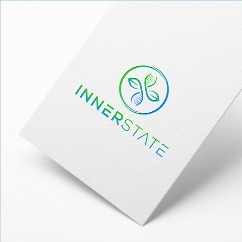 Biology logo with the title 'Logo Concept for the INNERSTATE'