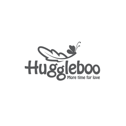 Diaper logo with the title 'Huggleboo'