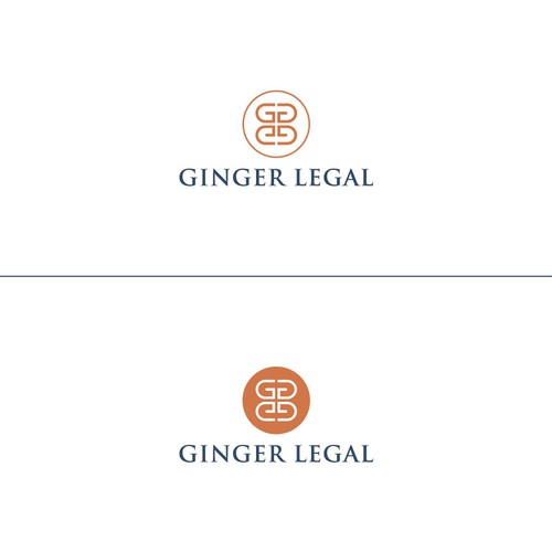 Ginger logo with the title 'Trustworthy logo with a little twink'