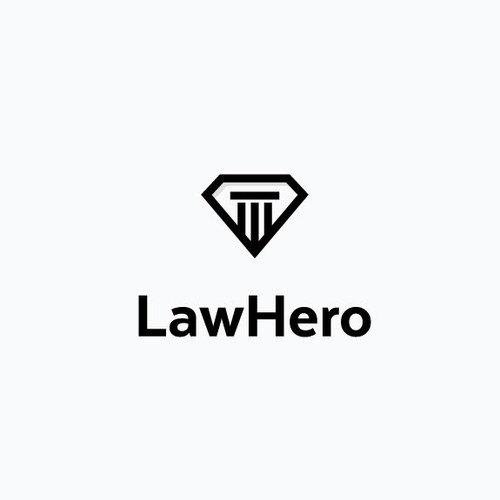 Justice logo with the title 'Heroic Justice'