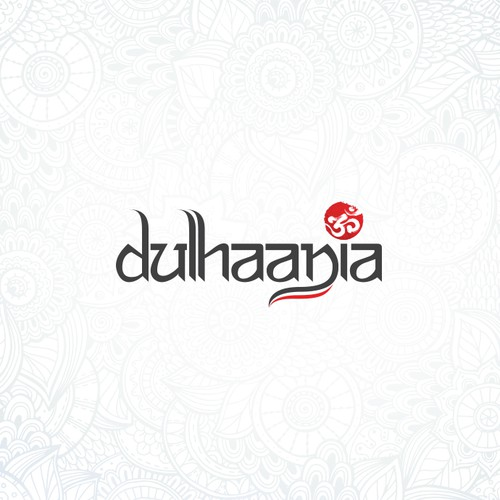 """Cultural logo with the title 'Logo concept for """"dulhaania""""'"""