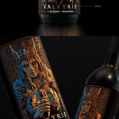 valkyrie  米德标签设计