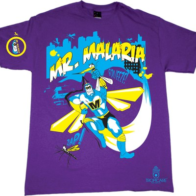 Help Tropicare with a new t-shirt design for a good cause #malaria