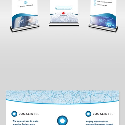 Localintel Trade Show Banners
