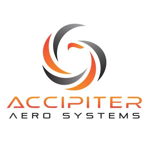 Aero logo with the title 'Powerful Logo For An Aerospace Company'