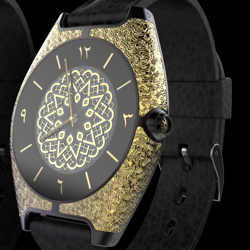 Watch design with the title 'Wristwacth'