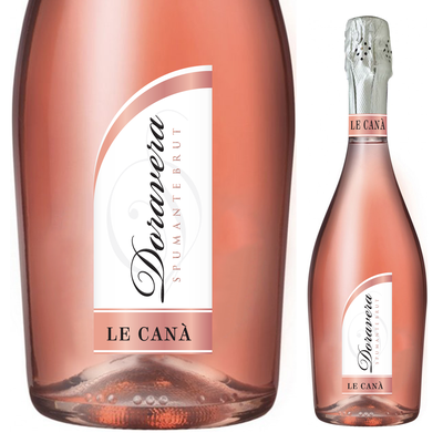 LABEL FOR ROSE' SPARKLING WINE