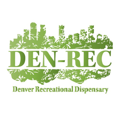 Denver design with the title 'Den-Rec Cannabis Dispensary'